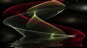 Diseño de la onda Fotografía de archivo