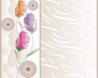 Diseño de la paginación de cubierta del cuaderno Fotografía de archivo libre de regalías