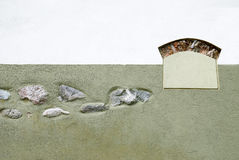 Diseño de la pared Imágenes de archivo libres de regalías
