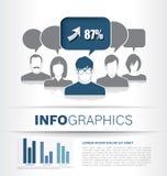 Diseño de la plantilla de Infographic stock de ilustración