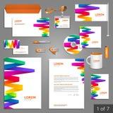 Diseño de la plantilla de los efectos de escritorio Fotografía de archivo libre de regalías