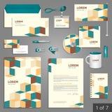 Diseño de la plantilla de los efectos de escritorio Foto de archivo