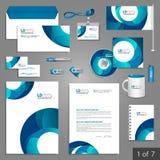 Diseño de la plantilla de los efectos de escritorio Imagen de archivo
