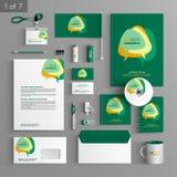 Diseño de la plantilla de los efectos de escritorio Imagen de archivo libre de regalías