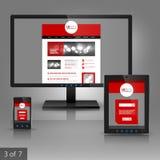 Diseño de la plantilla de los usos Imagen de archivo