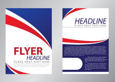 Diseño de la plantilla del aviador libre illustration