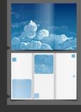 Diseño de la plantilla del folleto ilustración del vector