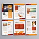 Diseño de la plantilla del folleto libre illustration