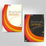Diseño de la plantilla del folleto del negocio Fotos de archivo libres de regalías