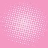 Diseño de la plantilla del vector del fondo de Art Baker-Miller Pink Dots Comic del estallido Foto de archivo libre de regalías