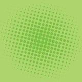 Diseño de la plantilla del vector del fondo de Art Lime Green Dots Comic del estallido Foto de archivo