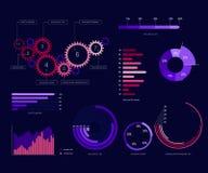 Diseño 2 de la plantilla de Infographic libre illustration