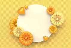 Diseño de la plantilla por días especiales Día feliz del `s de la madre Valle feliz Fotos de archivo