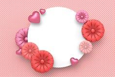Diseño de la plantilla por días especiales Día feliz del `s de la madre Valle feliz Fotos de archivo libres de regalías