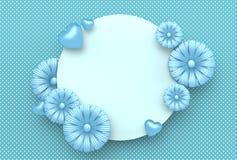 Diseño de la plantilla por días especiales Día feliz del `s de la madre Valle feliz Imagen de archivo