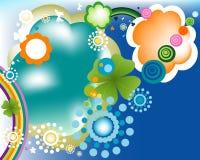 Diseño de la primavera stock de ilustración
