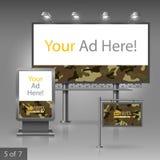 Diseño de la publicidad al aire libre Fotografía de archivo libre de regalías
