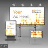 Diseño de la publicidad al aire libre Fotos de archivo