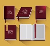 Diseño de la Sagrada Biblia Imagen de archivo libre de regalías