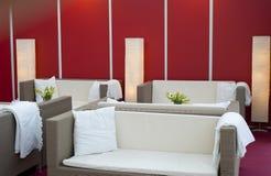 Diseño de la sala de estar Imágenes de archivo libres de regalías