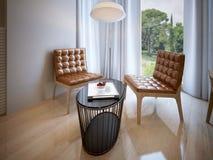 Diseño de la sala de estar Imagen de archivo libre de regalías