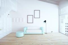 Diseño de la sala de estar libre illustration