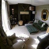 Diseño de la sala de estar Fotos de archivo