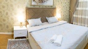 Diseño de la sala de estar con el sofá y la alfombra Fotografía de archivo libre de regalías