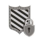 Diseño de la seguridad Imagen de archivo