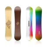 Diseño de la snowboard Imagen de archivo libre de regalías