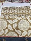 Diseño de la tapicería de la tela Imagen de archivo