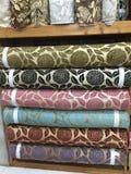 Diseño de la tapicería de la tela Imagen de archivo libre de regalías
