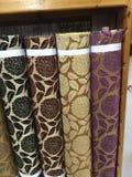 Diseño de la tapicería de la tela Imágenes de archivo libres de regalías