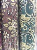 Diseño de la tapicería de la tela Fotos de archivo