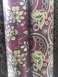 Diseño de la tapicería de la tela Fotos de archivo libres de regalías