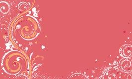 Diseño de la tarjeta del día de San Valentín Ilustración del Vector