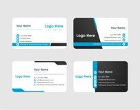 Diseño de la tarjeta de visita fotografía de archivo libre de regalías