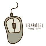 Diseño de la tecnología Foto de archivo libre de regalías
