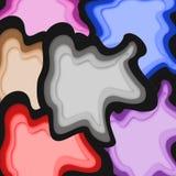 Diseño de la textura del borrón fotos de archivo