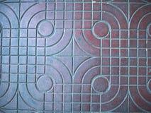 Diseño de la textura del pavimento de la calle Imágenes de archivo libres de regalías