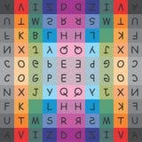 Diseño de la tipografía Fotos de archivo