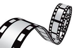 Diseño de la tira de película Imagen de archivo libre de regalías