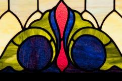 Diseño de la ventana de cristal de la mancha de óxido Imagen de archivo libre de regalías