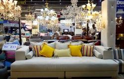 Diseño de la vida de la decoración interior y al aire libre para la demostración y el sa Foto de archivo