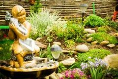 Diseño de Lanscape de jardín Imágenes de archivo libres de regalías