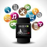 Diseño de las aplicaciones móviles del comercio electrónico y del mercado Fotos de archivo libres de regalías