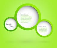 Diseño de las burbujas. Imagen de archivo