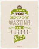 Diseño de las citas de la motivación Imagen de archivo