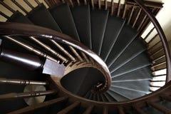 Diseño de las escaleras de la escalera espiral Imagen de archivo