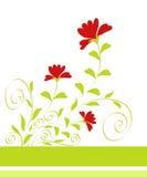 Diseño de las flores ilustración del vector